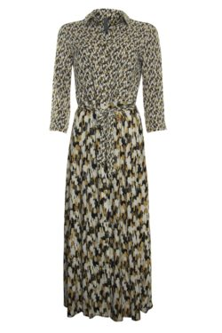 Jurken-Poools-113197 Dress print mix--Varia