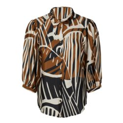 Blouses-Summum-2S2561-11358C1/Blouse leaves--Varia