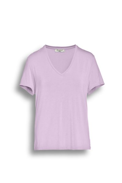 Tops & Shirts-Beaumont-BM05211211 V-neck Jersey Top--Varia