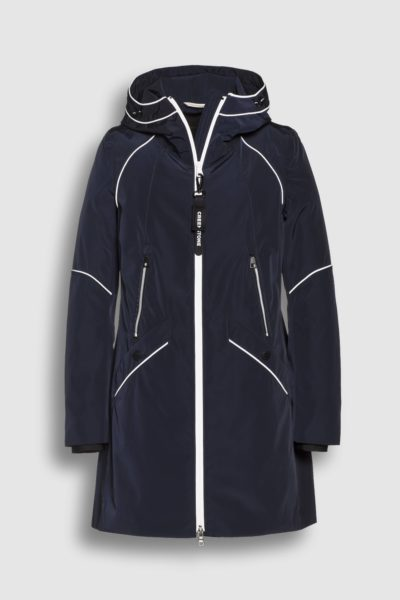Jassen-Creenstone-A-Line functional raincoat--Blauw